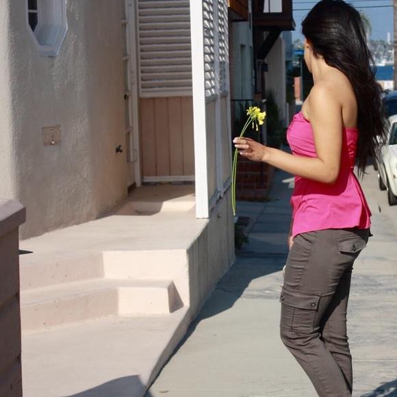 Alythea Tops - Valentine Weekend Sale 💗 Pink Peplum Top
