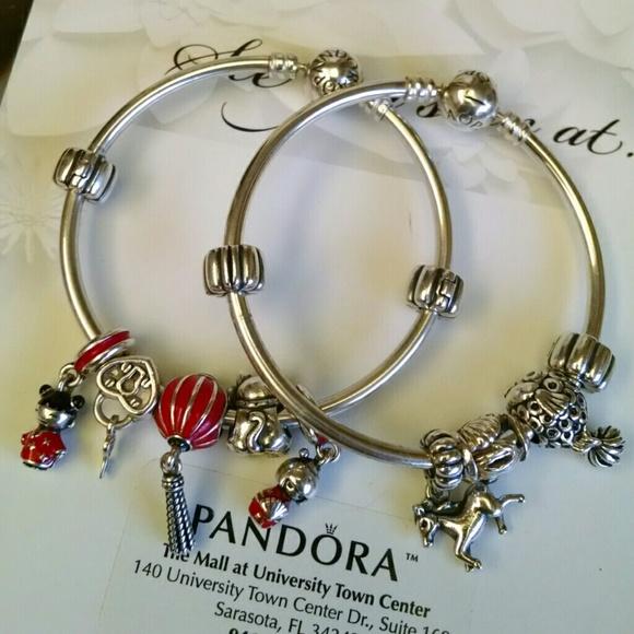 pandora bangle charms