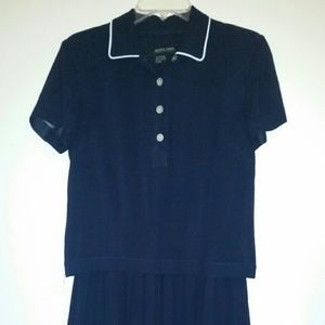 Cynthia Howie  Dresses & Skirts - Cynthia Howie Maggy Boutique Navy Blue Dress