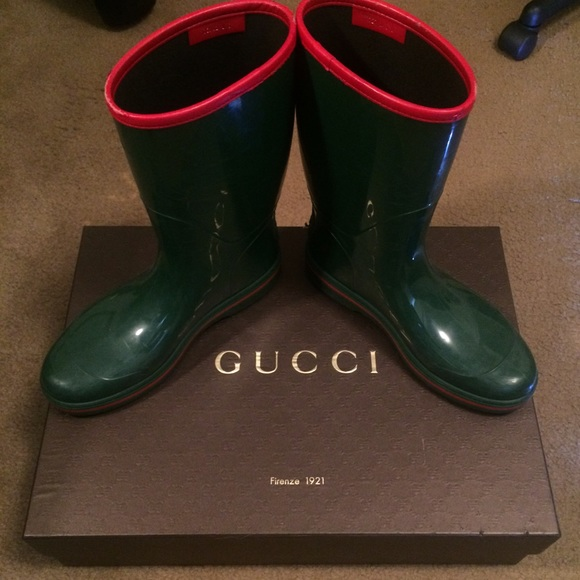 795c035ba11 Gucci Other - MENS GUCCI RAIN BOOTS (unisex men s ...