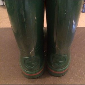 ec3d92da152 Gucci Shoes - MENS GUCCI RAIN BOOTS (unisex men s ...