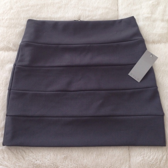 SYLK Dresses & Skirts - Brand New SYLK Gray Mini Skirt