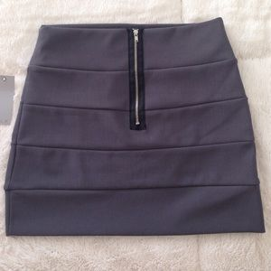 SYLK Skirts - Brand New SYLK Gray Mini Skirt