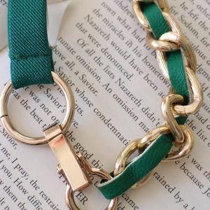 New Green Gold chain belt