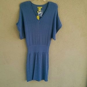 Catherine Malandrino pointelle knit dress size P