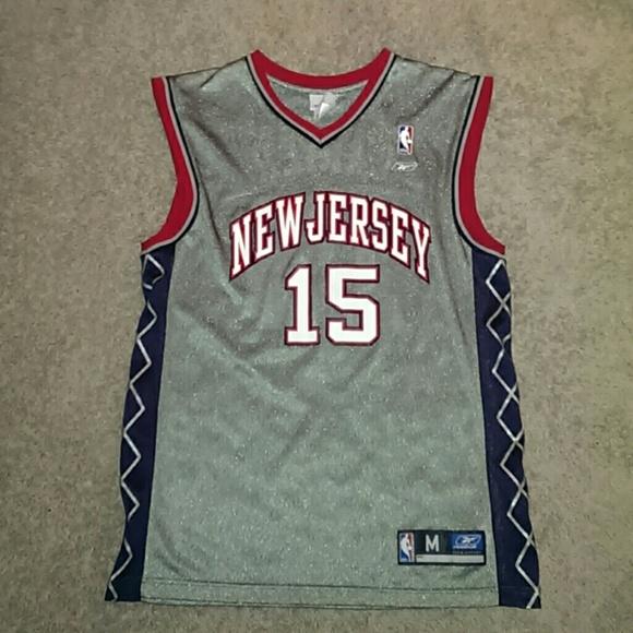 New Jersey Vince Carter jersey. M 55c93ce4b909cf63bd015585 e28b6479c