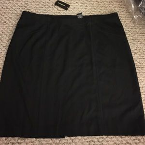 NWT Express Skirt with pin stripes