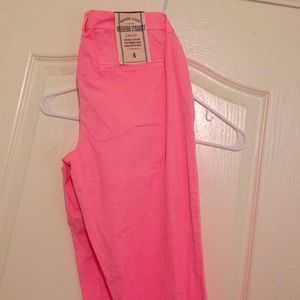 Maison Jules cropped pink pants