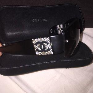Authentic Chanel sunglasses