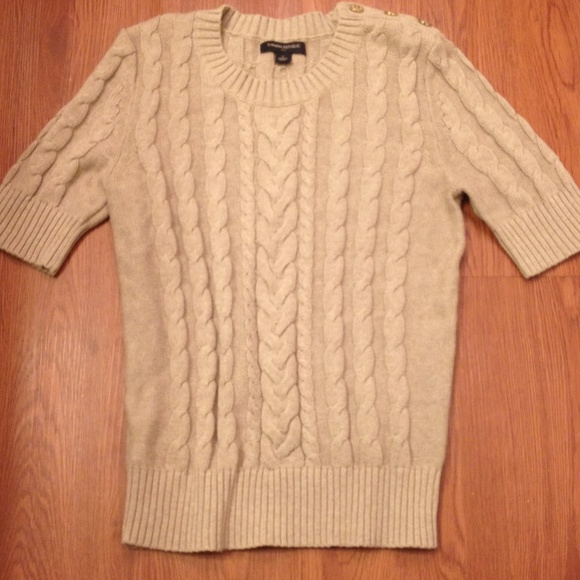 80% off Banana Republic Sweaters - Banana Republic cable knit ...