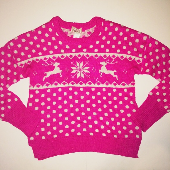 SO - ❌SOLD❌Bright Pink Holiday Sweater 💝🎄 ️FLASH SALE from ...