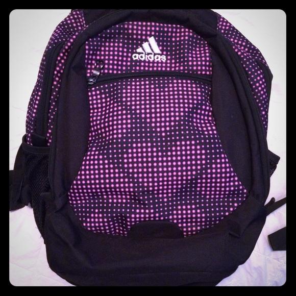 Adidas Accessories   Heart Backpack   Poshmark e1db5feed6