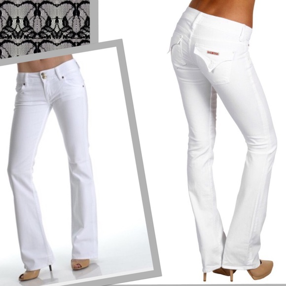 83% off Hudson Jeans Denim - White HOT 🇬🇧HUDSONS🇺🇸 Jeans! A ...