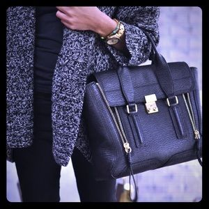 3.1 Phillip Lim Pashli Satchel medium black