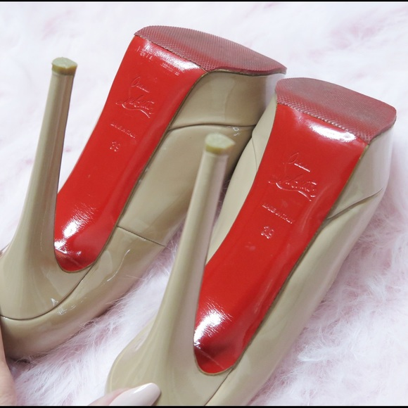 Christian Louboutin Shoes - Christian Louboutin Vibram Heels BIANCA 140
