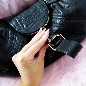 FENDI Bags - Fendi Large Spybag in Black Leather
