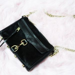 Rebecca Minkoff Mini MAC Clutch Black