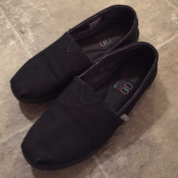 47 off BOBS Shoes Dual Density Memory Foam Like Toms Poshmark