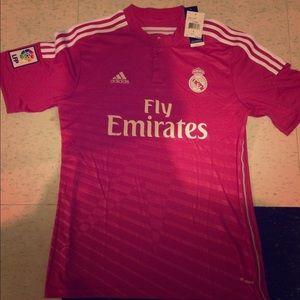 2015 Pink Real Madrid Jersey