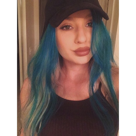 Hair Extensions Other Teal Blue Kylie Jenner Inspired Poshmark