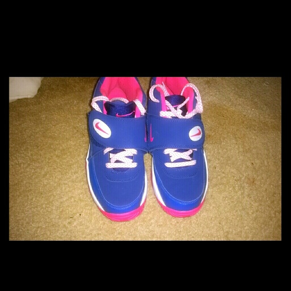 Blue Pink And White Nikes 55y | Poshmark