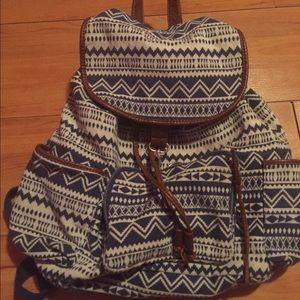 33a42ef3ac4d Aeropostale Bags - Aeropostale Tribal Print Backpack