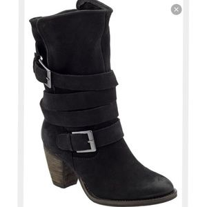 "Steven by Steve Madden ""Jhonny"" black booties"