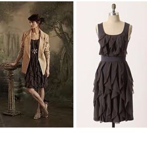Anthropologie Rising Vapor Dress