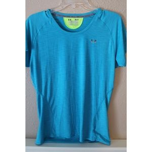 Light Blue Semi-Fitted Under Armour Tee
