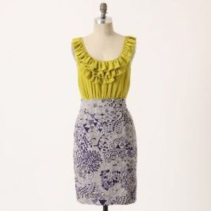 Anthropologie Seaside Fields Dress