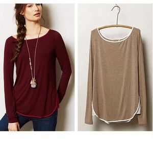 Anthropologie Wren Top - Beige