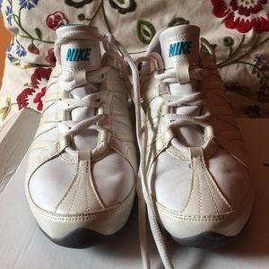 White Nike sneaker