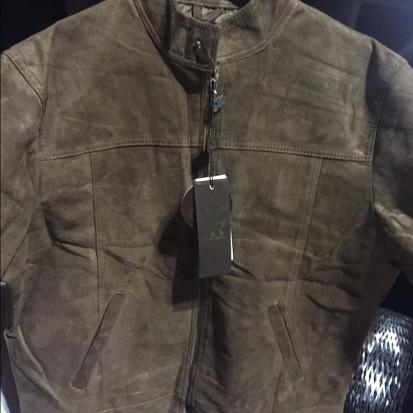 2da00aeaacd3 Armani collezioni Jackets & Coats | Brown Suede Mens Jacket | Poshmark