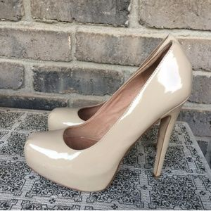 ALDO Shoes - ALDO Nude Platform Pumps