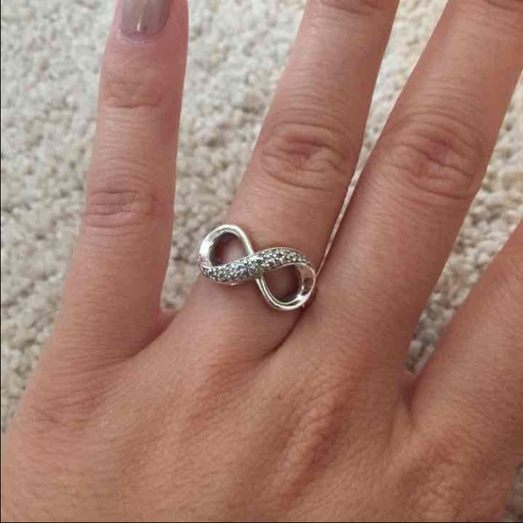 84 off zales jewelry zales crystal infinity ring from for Where is zales jewelry