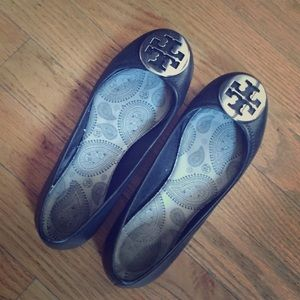 Authentic Tory Burch Reva flats