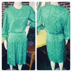 1980's Vintage Secretary Dress