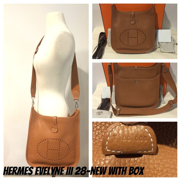 ✨SOLD✨HERMES BRAND NEW IN BOX EVELYNE III GOLD P 017aeea94