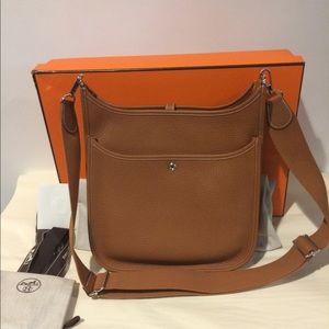 925f3105bff Hermes Bags   Sold Brand New In Box Evelyne Iii Gold P   Poshmark