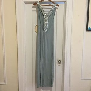 Josh Brody Dresses & Skirts - Sea foam green maxi dress