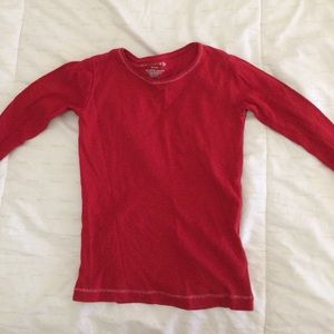 Other - Kids red long sleeve