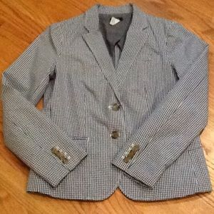 Jcrew Gingham Blazer - Sale!