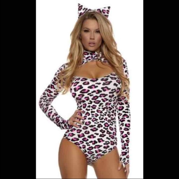 43% off Forplay Other - Forplay cheetah bodysuit Halloween costume ...