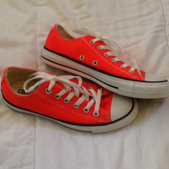 c48dc5c8f1f4 Converse Shoes - HOLD for Nikkisun NEW Bright Neon Orange CONVERSE