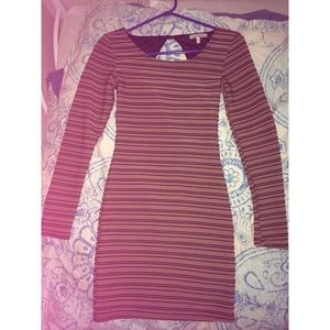 Charlotte Russe bodycon long sleeve dress