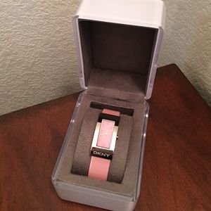 Pink DKNY Watch