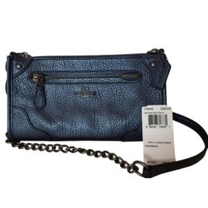 Coach Mickie Leather Crossbody Purse