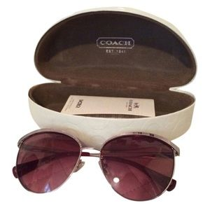 Coach Catrice Cat Eye Sunglasses