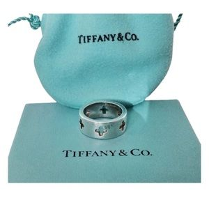 Tiffany & Co. Cross Cutout Ring