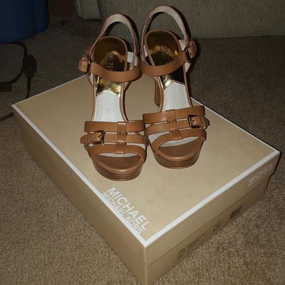 MICHAEL Michael Kors Shoes   Camel